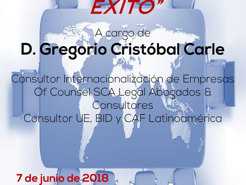 Charla sobre exportación en el Vivero de Empresas de Cámara Orihuela